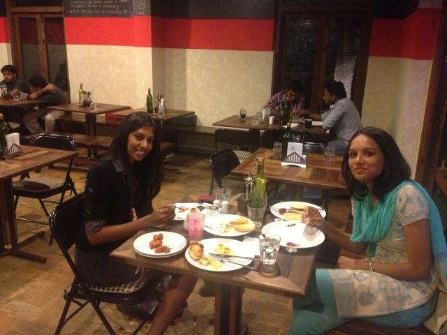 Dinner with Lakshmi Rebecca